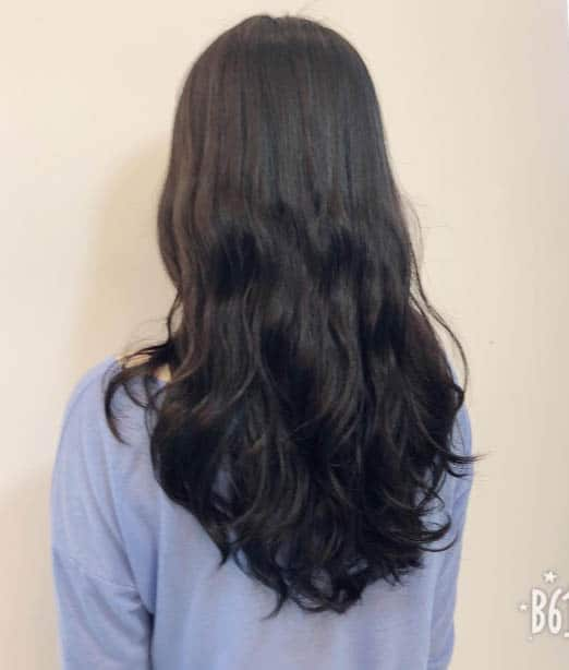 The Layered Cut Perm - Long Layered Hairstyles