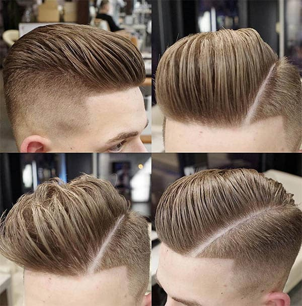 The Loose Comb-Over with Low Fade