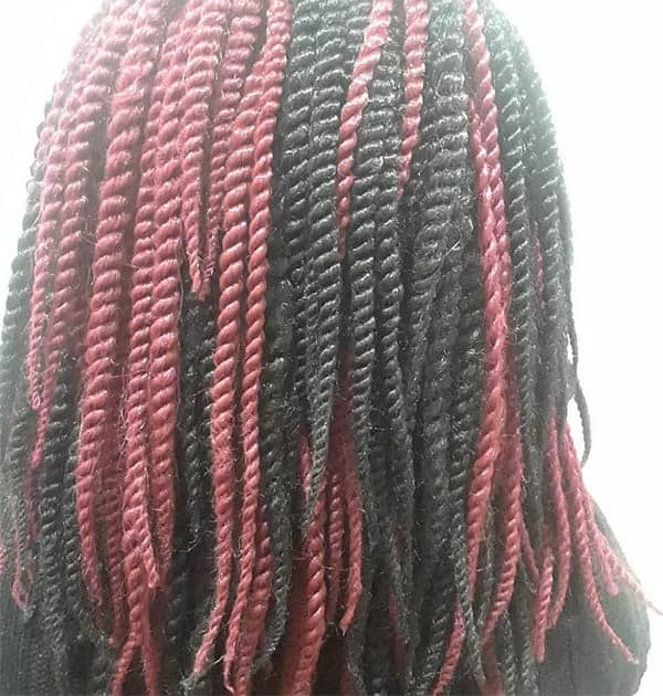 The Medium Kinky Crochet Twists - Kinky Twist Hairstyles