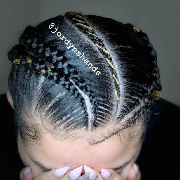 The Rope Braid - Goddess Braids Styles