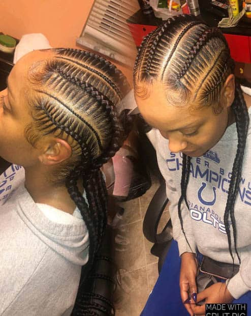 Tightly woven - Goddess Braids Styles