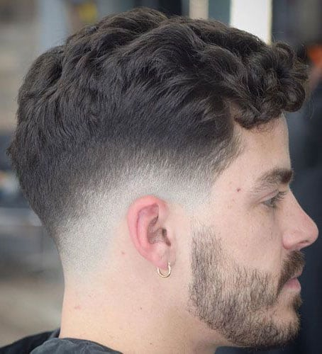Wavy Pomp and Fade - Best Killermonger Hairstyles