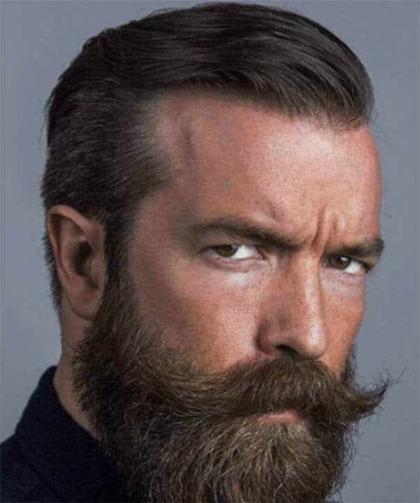 Bandhold Beard Classy Slick Back Haircuts For Men
