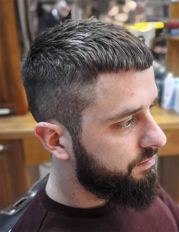 Bangs - Mid Fade Haircuts For The Stylish Man