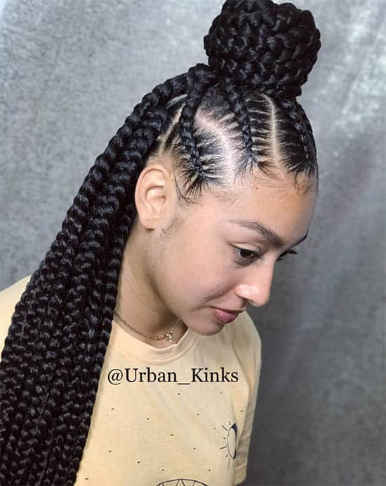 Black Is Simple Box Braids