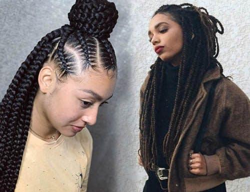 Hairstyles 2019 Black Female Braids: 42 Short Hairstyles For Women (2019) [Best Trending Haircuts]