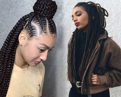 African Hair Braiding Styles 2019: Trendy Box Braids For Black Women (47 Styles To Try In 2019