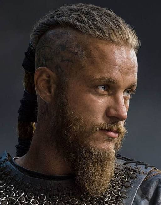 Braided Part - best Viking Hairstyles
