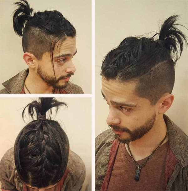 Braids and Dreads - Undercut Hairstyles For Classy Men