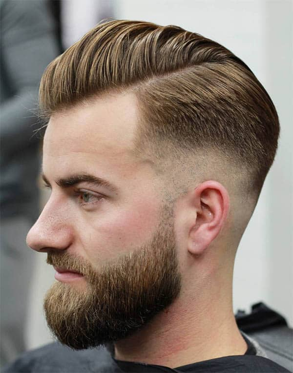 Chiseled Taper Fade - Haircuts For Balding Men