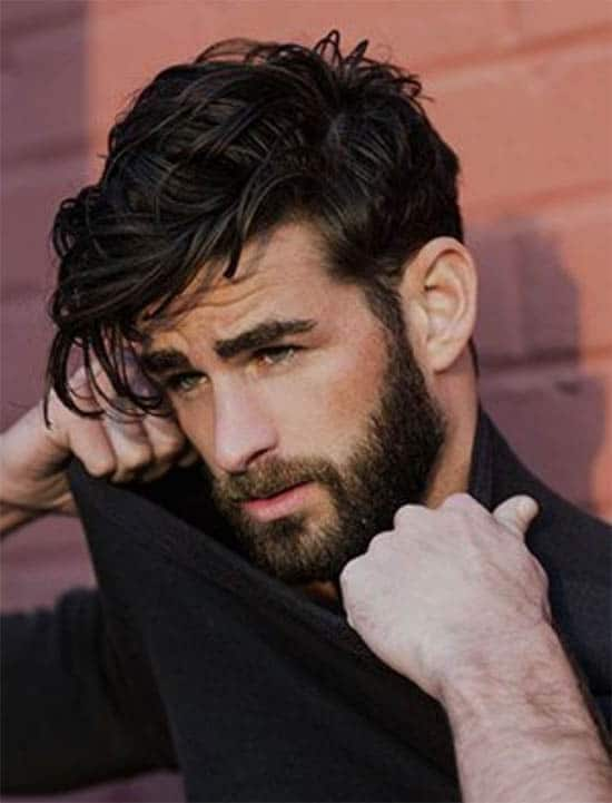 Classic Comb Over - Long Haircuts For Men