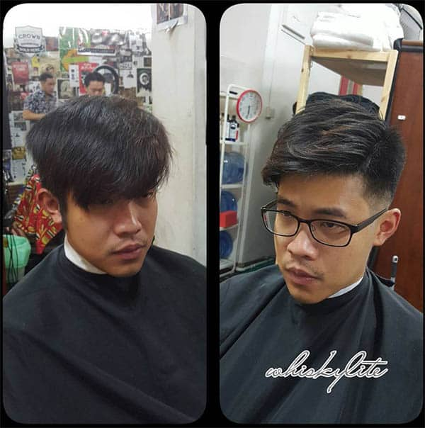 Classic Side Sweep - Long Haircuts For Men