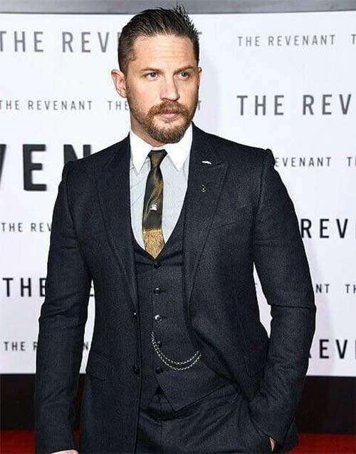 Clean Cut with Beard - Best Tom Hardy Haircut