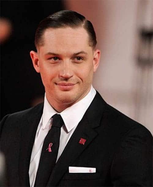 Clean Cut with Part - Best Tom Hardy Haircut