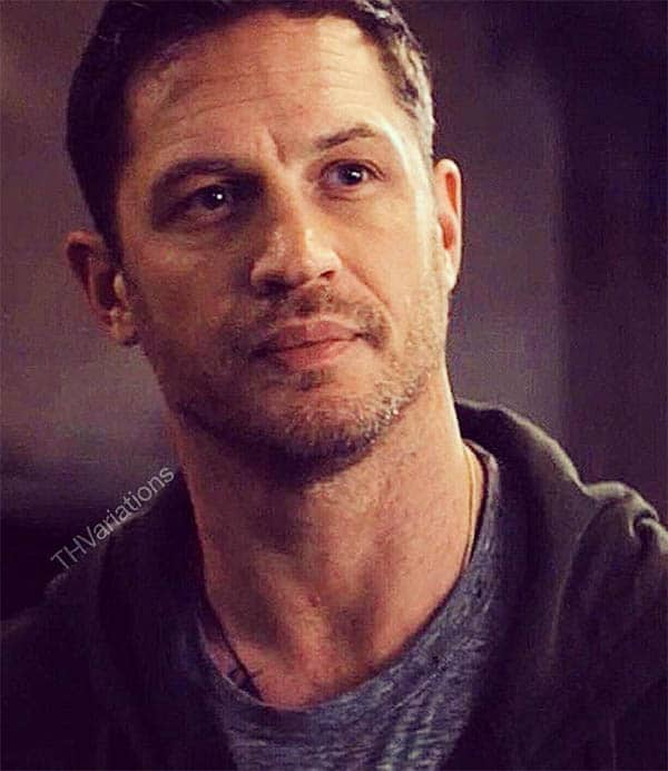 Clean Cut with Stubble - Best Tom Hardy Haircut