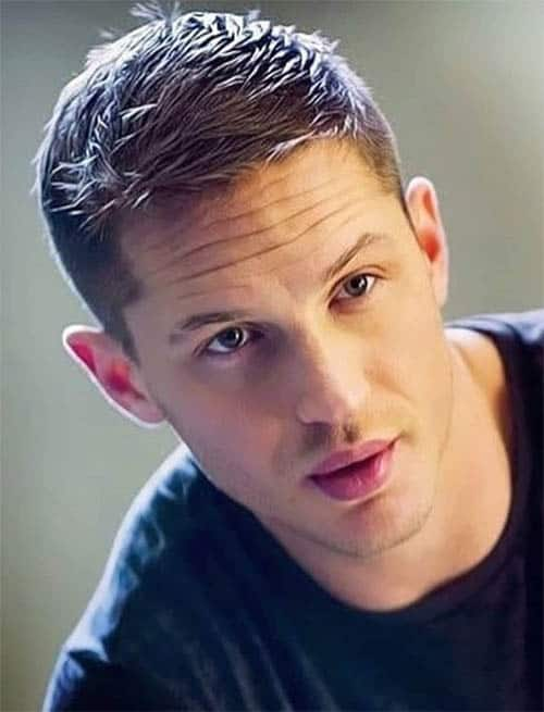 Clean Straight - Best Tom Hardy Haircut