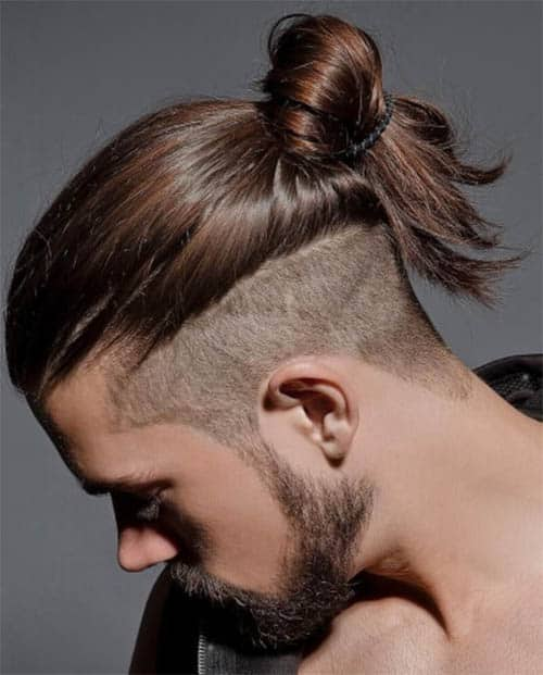 Clean Undercuts with Man Buns - best Viking Hairstyles