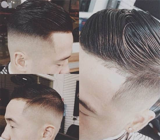 Comb Styling + High Fades - Medium Length Hairstyles For Men