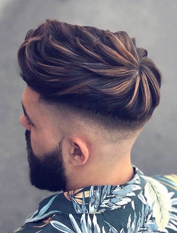 Combed Forward Undercut - Disconnected Undercut Hairstyles