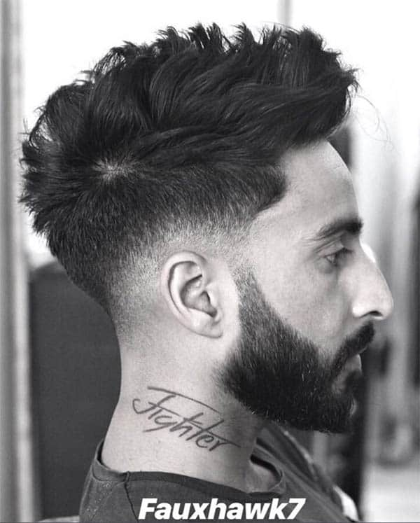 Curly Faux Hawk - Long Haircuts For Men