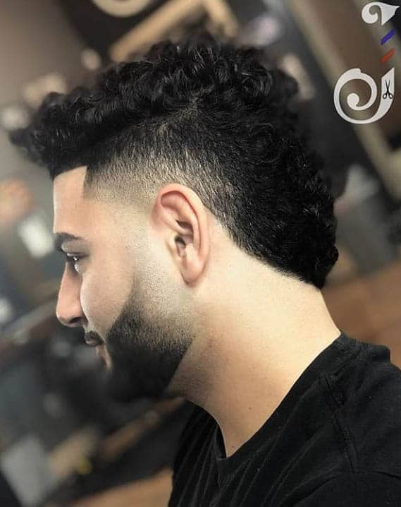 Curly Quiff - Curly Hairstyles For Men