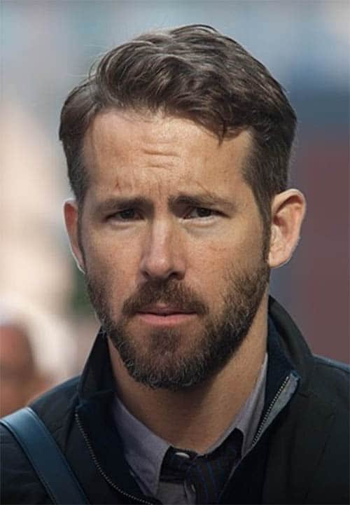 Curvy Long Top - Ryan Reynolds Best Haircuts