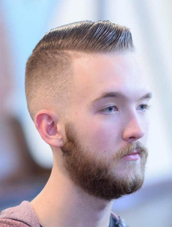 Curvy Side Part - Undercut Hairstyles For Classy Men