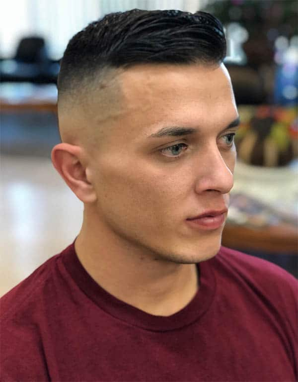 Disconnected Military Undercut - Disconnected Undercut Hairstyles