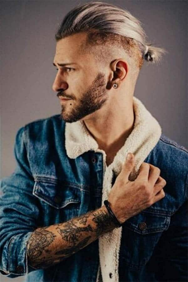 Disconnected Undercut Man Bun - Disconnected Undercut Hairstyles