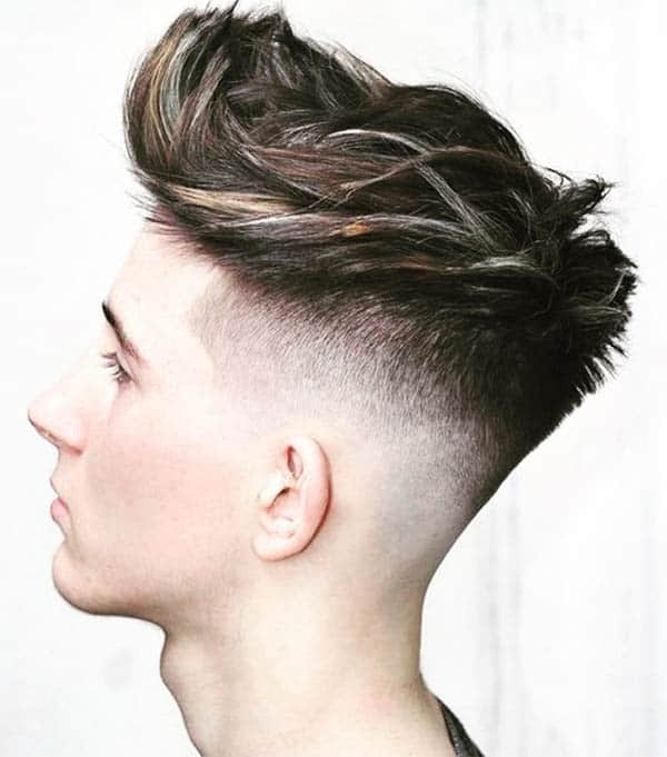 Disconnected Undercut + Quiff - Disconnected Undercut Hairstyles
