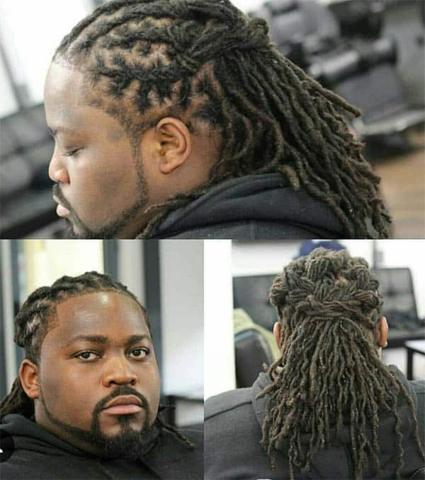 Dreadlocks - Men's Long Hair With Undercut Hairstyles