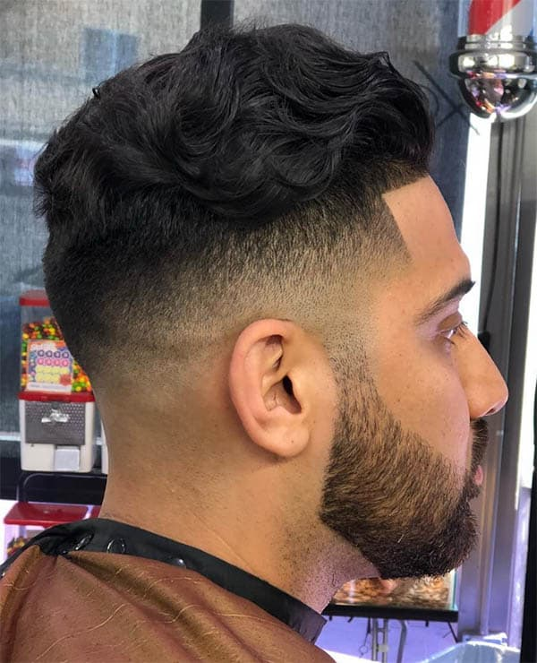 Drop Fade - Medium Length Hairstyles For Men