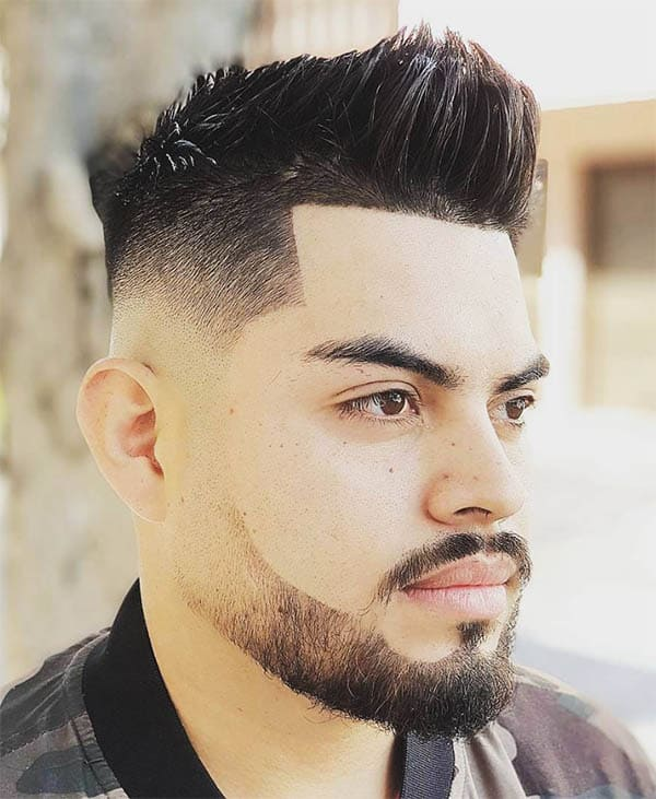Drop Fade - Mid Fade Haircuts For The Stylish Man