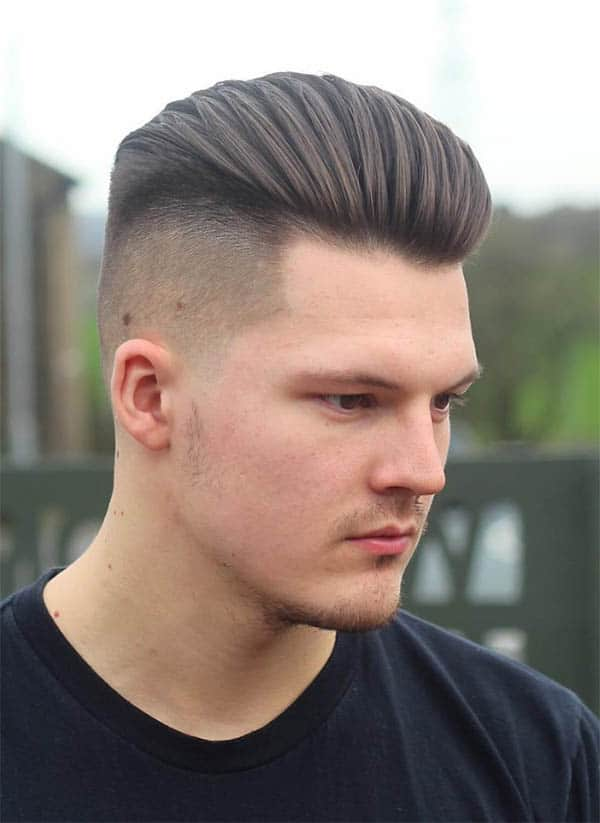 Faded Undercut - Best Military Haircuts