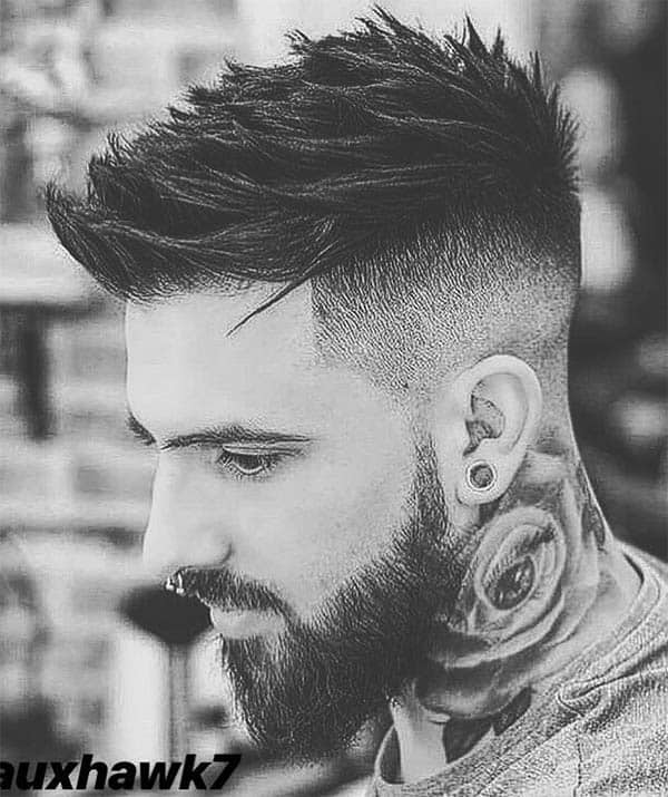 Faux Hawk + Disconnected Undercut - Disconnected Undercut Hairstyles