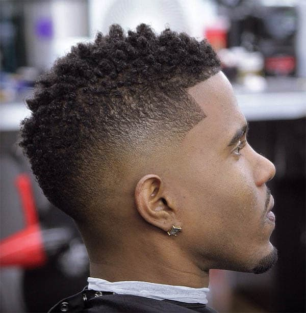 Faux Hawk - High Top Fade Haircuts
