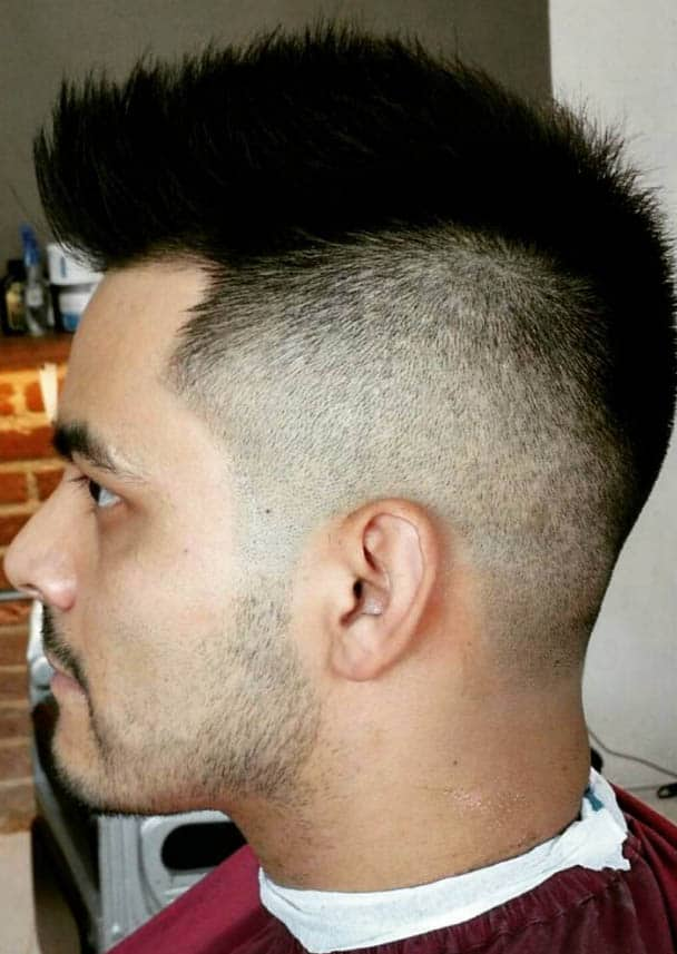 Faux Hawk - Medium Length Hairstyles For Men