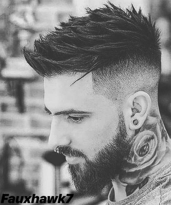 Faux Hawk - Punk Hairstyles For Men