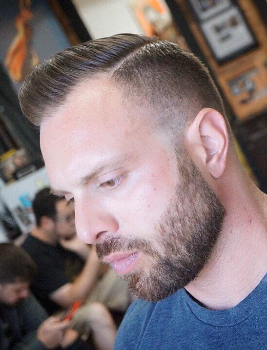 Flat Top - Undercut Hairstyles For Classy Men