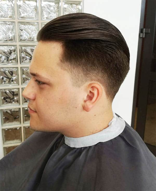 Flipped Over - Mid Fade Haircuts For The Stylish Man
