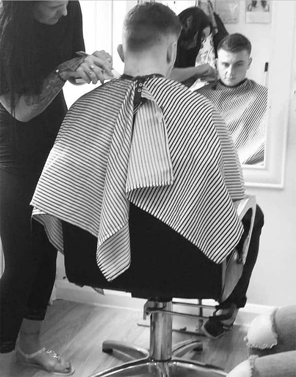 Front and Center - Marine Haircuts For Men