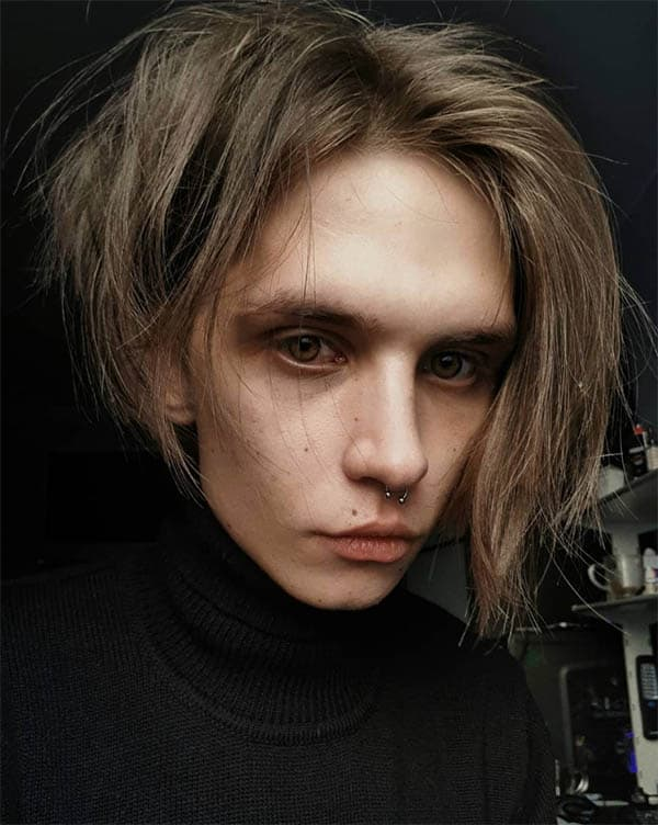Grunge Hairstyle - Punk Hairstyles For Men