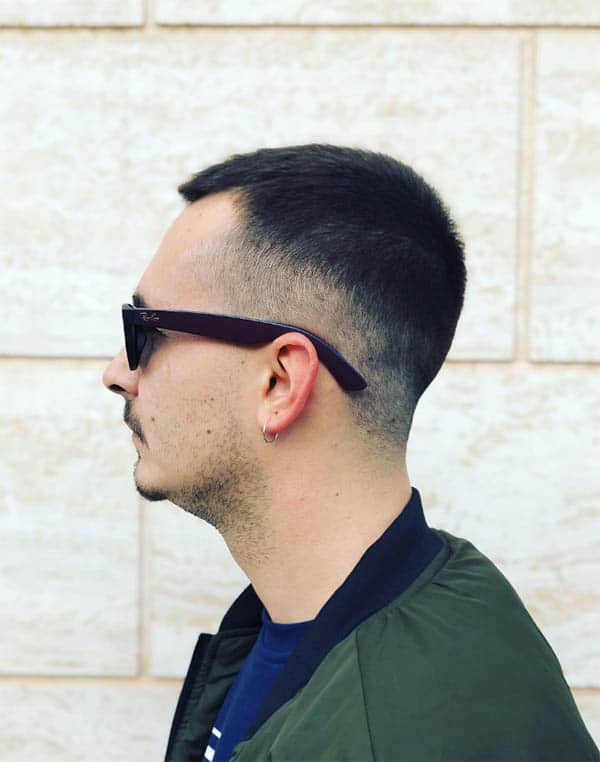 Hard Parting - Marine Haircuts For Men