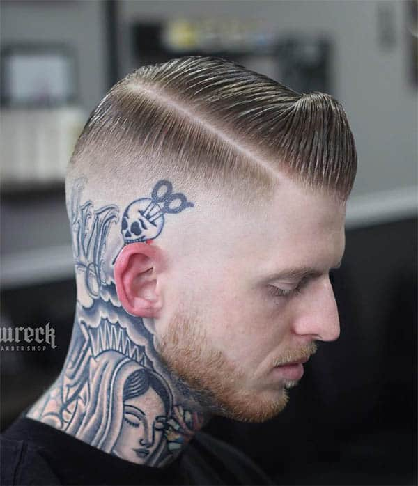 Hard Side Part - Punk Hairstyles For Men