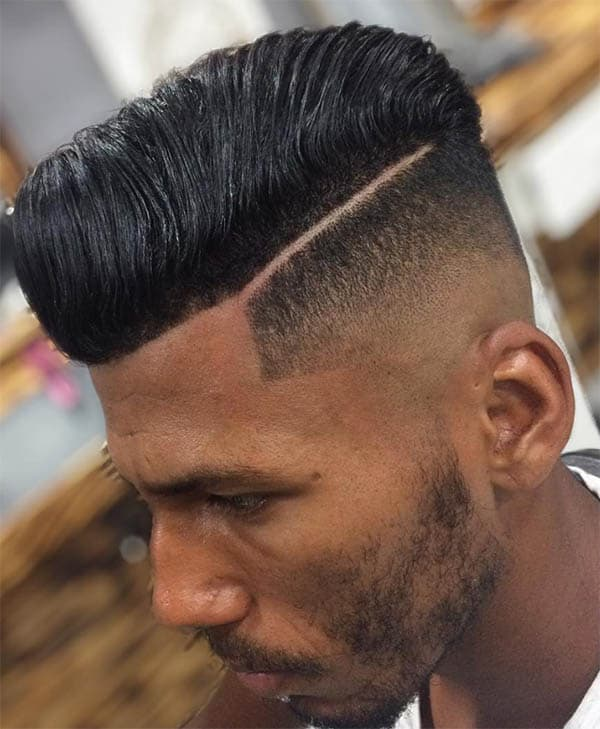 High Fade - Men's Long Hair With Undercut Hairstyles