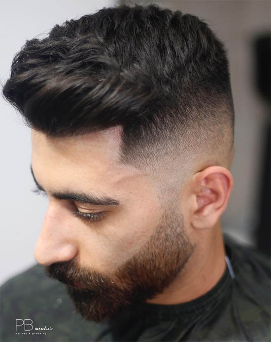 High Fade Pomp - Long Haircuts For Men