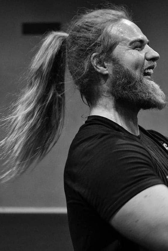 High Men's Ponytail - Best Men's Ponytail Hairstyles