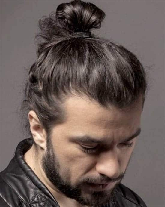 Hipster Man Bun and Full Beards - Trendy Samurai Hairstyles