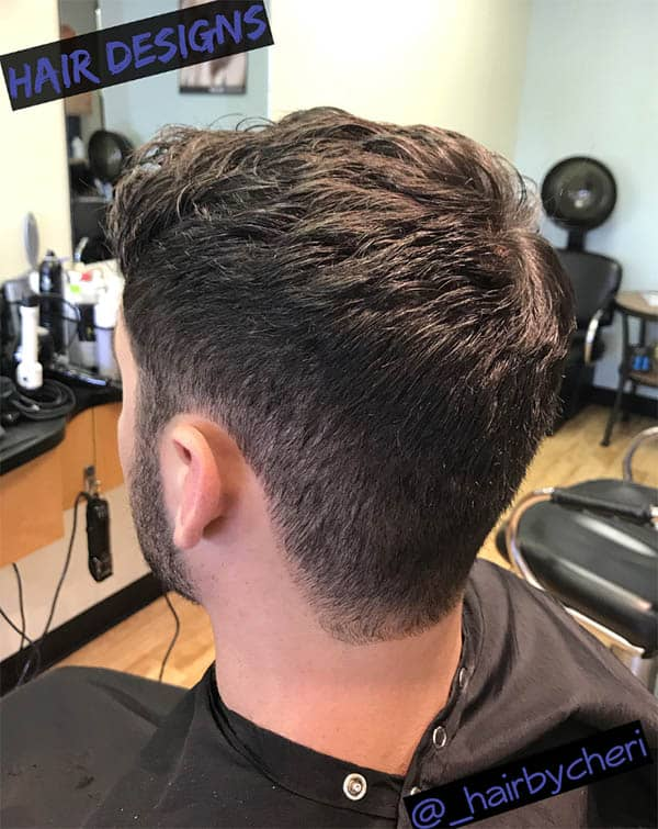 Layered with Lift - Marine Haircuts For Men