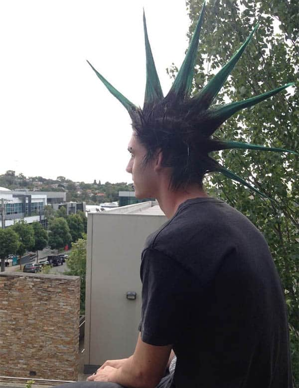 Liberty Spikes Mohawk - Punk Hairstyles For Men